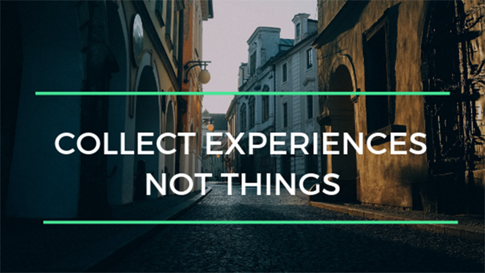 Collect Experiences | Ingenious Travel